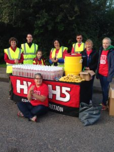 113 Events Aid Station Team