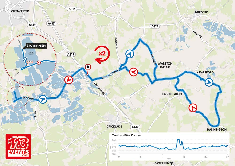 113-bike-route-map